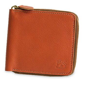 【イルビゾンテ IL BISONTE 財布】ラウンドジップ2つ折り財布 [商品番号_54162309540]【送料無料】【あす楽対応】【財布 ファスナー財布 二つ折り財布】
