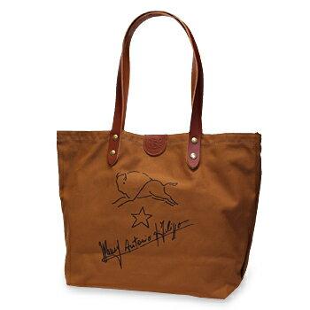 【イルビゾンテ IL BISONTE バッグ】サインプリント キャンバストートバッグ[商品番号_5422301920] 【送料無料】【あす楽対応】【バッグ トートバッグ】