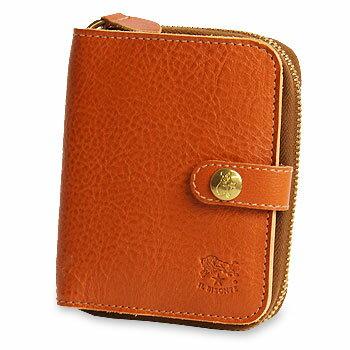 【イルビゾンテ IL BISONTE 財布】2つ折り財布(オールジップコインケース)A[商品番号_5402306740]【送料無料】【あす楽対応】【財布 二つ折り財布】