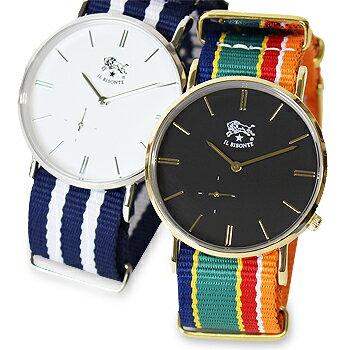 【イルビゾンテ IL BISONTE 腕時計】ストライプリストウォッチ[商品番号_54172304197]【送料無料】【あす楽対応】【腕時計 文字盤バンドセット】