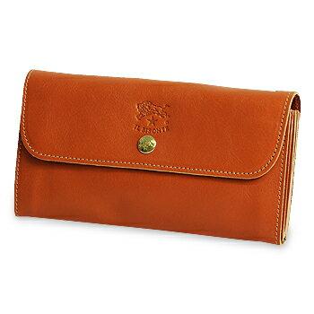 【イルビゾンテ IL BISONTE 財布】スナップボタン長財布 [商品番号_5432404140]【送料無料】【あす楽対応】【財布 長財布】