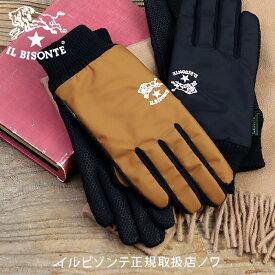 イルビゾンテ 雑貨小物 ナイロン手袋 グローブ スマホ対応 商品番号_54212309382 ファッション小物 手袋 2021年秋冬新作 IL BISONTE