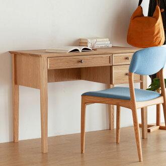 [faeroes] learning desk width 110 cm oak learning desk study desk study desk / study / wood / natural wood /