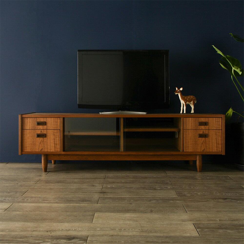 [lapua] Snack Width 160 Cm / Teak Storage Furniture TV Units/TV Stand/TV  Board / Lowboard / Make / Cabinet AV Board / Wood / Natural Wood