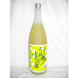 すてきなうめレモン酒 1800ml 7度 [麻原酒造 埼玉県 梅酒 甲類焼酎ベース]