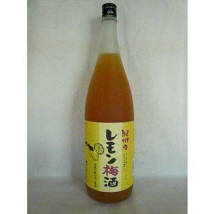 紀州のレモン梅酒 1800ml 12度 [中野BC 和歌山県 梅酒 甲類焼酎ベース レモン仕込み]