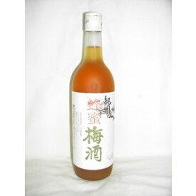 紀州 蜂蜜梅酒 720ml 12度 [中野BC 和歌山県 梅酒 甲類焼酎ベース 蜂蜜仕込み]