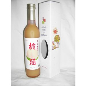 すてきな桃酒 500ml 7度 [麻原酒造 埼玉県 ピーチリキュール 甲類焼酎ベース]