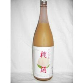 すてきな桃酒 1800ml 7度 [麻原酒造 埼玉県 ピーチリキュール 甲類焼酎ベース]