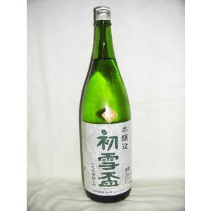 初雪盃 本醸造 1800ml [協和酒造 愛媛県 本醸造]【RCP】