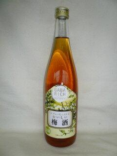 GABARICH ギャバたっぷり おいしい梅酒 720ml 8度 [中国醸造 広島県 梅酒]