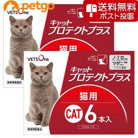 【ネコポス(同梱不可)】【2箱セット】ベッツワン キャットプロテクトプラス 猫用 6本 (動物用医薬品)【あす楽】