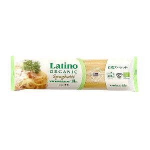 Latino Organic ラティーノ オーガニック 有機ブロンズスパゲッティ 500g×24袋[賞味期限:4ヶ月以上][送料無料]【1月29日出荷開始】