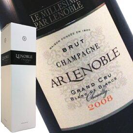 A.R. ルノーブル グランクリュ ブラン ド ブラン ブリュット ミレジメ 2008 箱入り 750ml