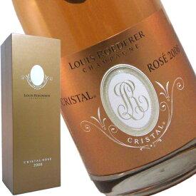 正規品 ルイ ロデレール クリスタル ロゼ 2008 箱入り 750ml