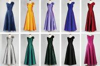 オーガンジーのノースリーブドレス、演奏衣装にどうぞ演奏会ドレス、ステージ衣装演奏会用ロングドレスです