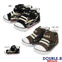 ダブルB ミキハウス Double B by MIKIHOUSE ハイカットセカンドベビーシューズ【日本製 靴】 【送料無料】