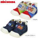 【セール30%OFF】ミキハウス MIKIHOUSE プッチートレイン セカンドベビーシューズ【靴】【靴箱無し】