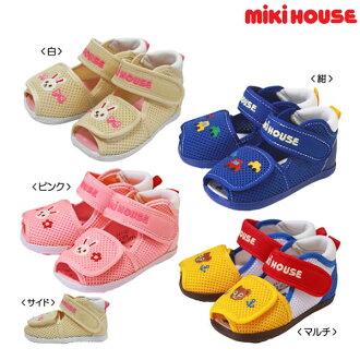 Miki房屋雙羅素嬰兒涼鞋(鞋)()