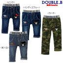 【セール40%OFF】ダブルB(ミキハウス) Double B by MIKIHOUSE ポケットに刺繍つき☆ストレッチジーンズ【キッズ】