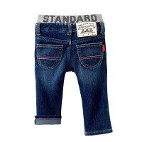 ポケットに刺繍つき☆ストレッチジーンズ