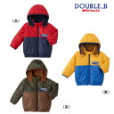 【セール50%OFF】【半額】ダブルB ミキハウス Double B by MIKIHOUSE高機能中綿ジャンパー 【キッズ】