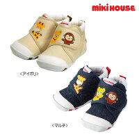 ミキハウス(MIKIHOUSE)プッチー&アニマルファーストベビーシューズ(日本製)