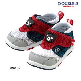 ダブルB ミキハウス Double B by MIKIHOUSE メッシュ サマー セカンドベビーシューズ【靴】【ベビー】【キッズ】【30%OFFセール】