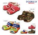 ダブルB(ミキハウス) ダブルラッセル ベビーサンダル(靴)(アウトレットセール50%OFF半額)Double B by MIKIHOUSE