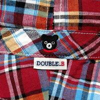 ダブルB(ミキハウス)サイズ調整付ハット(30%OFFアウトレットセール)DoubleBbyMIKIHOUSE