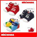 (アウトレットセール30%OFF)ミキハウス(MIKIHOUSE) mロゴ ファーストベビーシューズ(日本製 靴)