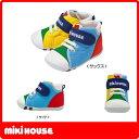 ミキハウス MIKIHOUSE mロゴ ファーストベビーシューズ【日本製 靴】【靴箱なし)【30%OFFアウトレットセール】