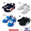 ミキハウス MIKIHOUSE &ミズノコラボレーションキッズシューズ【靴】 【送料無料】