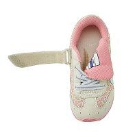 ミキハウス(MIKIHOUSE)&ミズノコラボレーション小花柄キッズシューズ(ミキハウス靴)