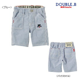 003372a59d044 ダブルB(ミキハウス) Double B by MIKIHOUSE ストライプ&チェック柄の6分