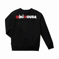 ミキハウス(MIKIHOUSE)バックロゴトレーナー(大人用)【日本製)【レディース】【メンズ】