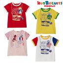 ホットビスケッツ(ミキハウス) Hot Biscuits by MIKIHOUSE トラベル半袖Tシャツ【キッズ】【ベビー】【メール便可】