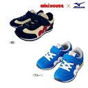 【セール30%OFF】ミキハウス MIKIHOUSE MIKIHOUSE &ミズノコラボレーションキッズシューズ【靴】