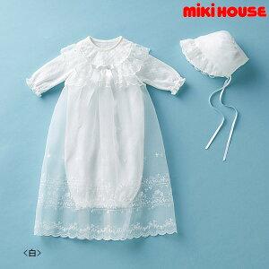 【ミキハウスフェア♪】ミキハウス MIKIHOUSE セレモニードレスセット【箱入】【日本製】【通年】【ベビー】【出産祝い】
