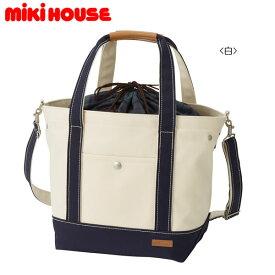 ミキハウス MIKIHOUSE キャンバストートバッグ【日本製】【ベビー】【レディース】