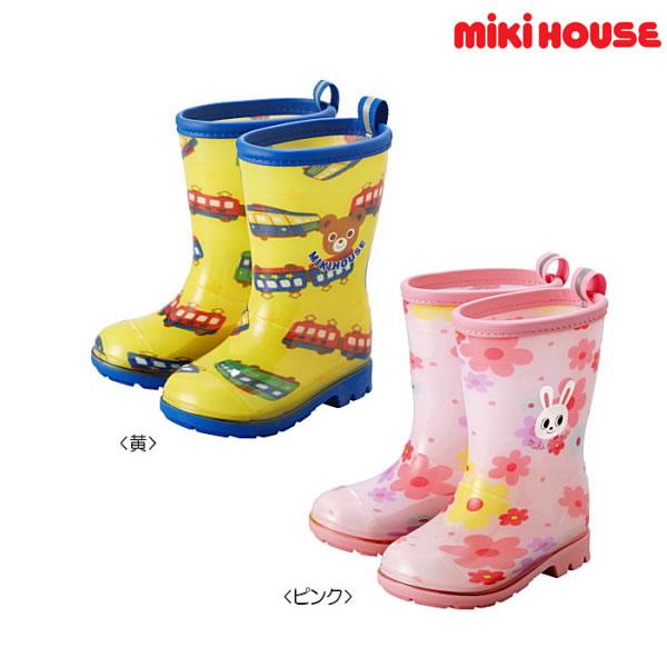 【MHフェア】ミキハウス MIKIHOUSE プッチー&うさこレインブーツ【長靴】 【キッズ】