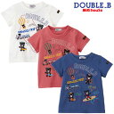 ダブルB(ミキハウス) Double B by MIKIHOUSE 刺繍モチーフTシャツ【日本製】【キッズ】【30%OFFセール】