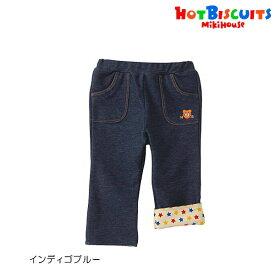 ホットビスケッツ(ミキハウス) Hot Biscuits by MIKIHOUSE ビーンズくん ストレッチニットデニムパンツ【キッズ】