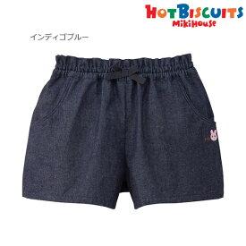 ホットビスケッツ(ミキハウス) Hot Biscuits by MIKIHOUSE デニムハーフパンツ【キッズ】【ベビー】