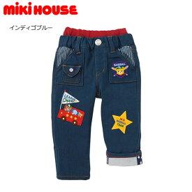ミキハウス MIKIHOUSE ストレッチニットデニムパンツ【日本製】【ベビー】【キッズ】【送料無料】