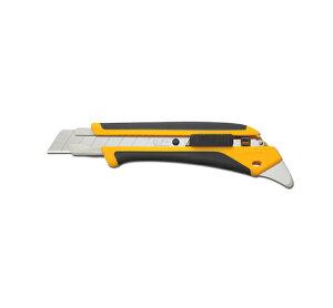 オルファ 替刃式カッター ハイパーAL(Lタイプ)ラバーグリップ オートロック機能付 梱包・開梱に便利なツメ付 4個まで1通のメール便可