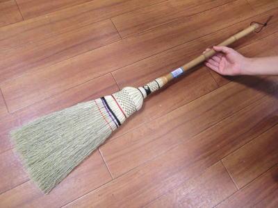 手編みの座敷ほうき 中