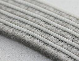 モヘアタイプシール材(すき間テープ)幅9ミリ×毛の高さ9ミリ×長さ2.5m水に強く、丈夫です2個までメール便OK!