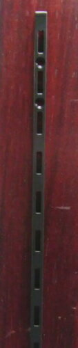 ロイヤルASF−1チャンネルサポートAブラック600ミリ(ガチャ柱・棚柱)