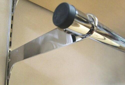 ロイヤルハンガーブラケット(25ミリ外々用)ハンガーパイプ受け単品販売です。クローム呼び名250(実寸法257ミリ)4個まで一通のメール便可